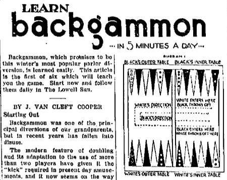 64 die backgammon instructions for beginners